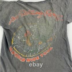 1978 Rolling Stones Vintage Tour Band Rock Shirt 70s 1970s