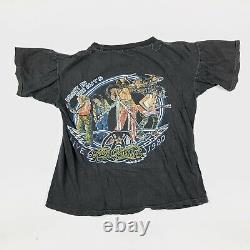 1980 AEROSMITH Vintage Tour Band Rock Shirt 80s 1980s Van Halen Rolling Stones