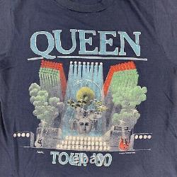 1980 QUEEN Vintage Tour Band Rock Shirt 80s 1980s Rolling Stones Zeppelin Bowie