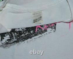 1989 THE ROLLING STONES vtg rock concert tour tee t-shirt (XL/2XL/XXL) 80's