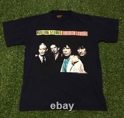 1994 Rolling Stones Budweiser Voodoo Lounge Tour Size Large Brockum Tag Rare