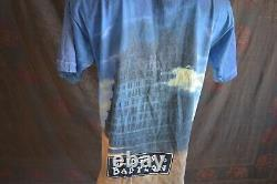 90'S THE ROLLING STONES Bridges to Babylon All Over Print Vintage T-shirt 1998