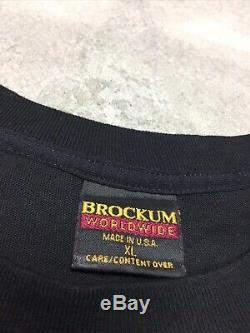 90s VTG nos THE ROLLING STONES VOODOO LOUNGE TOUR 1994 1995 Brockum Worldwide XL