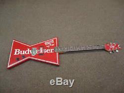 Dean Budweiser Rolling Stones Tour 1989 bow tie Electric Guitar Steel Wheels