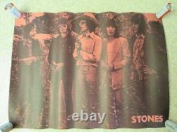 Lot of 3 Vintage Rolling Stones Posters