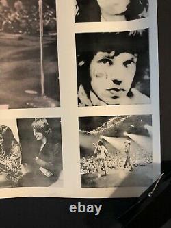 Original Vintage Poster Rolling Stones Collage 1970s Music Memorabilia Headshop