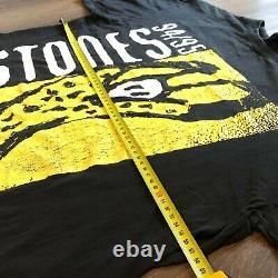 RARE VINTAGE ROLLING STONES Voodoo Lounge World Tour 94/95 T Shirt Size-XL vtg