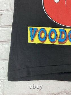 RARE Vintage 1994 Rolling Stones Shirt Voodoo Lounge Band Tee BIG Print 2 Sided