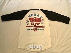 ROLLING STONES 1981 vintage concert tour shirt jersey DALLAS Cotton Bowl ZZ Top