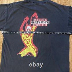 ROLLING STONES Voodoo Lounge World Tour 94/95 Vintage Concert Band T-Shirt Large