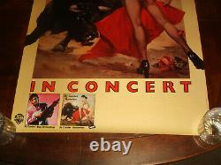 Rare Vintage RY COODER BORDERLINE 1980 WARNER BROS RECORDS PROMO POSTER