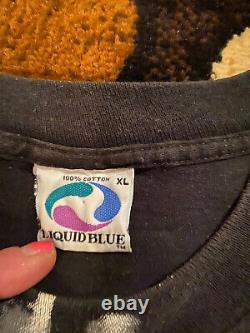 Rare Vintage Rolling Stones 1994 Sticky Fingers T Shirt XL Liquid Blue Brand