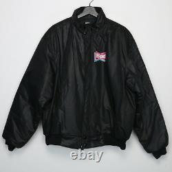 Rolling Stones Jacket Vintage Coat 1989 Steel Wheels Tour Bud Light Concert 80s