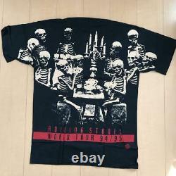 Rolling Stones T-shirt 1994 VOODOO LOUNGE Tour size XL Width 61cm Vintage