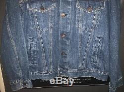 Rolling Stones Vintage 1989 Steel Wheels Tour Denim Jacket Adult XL