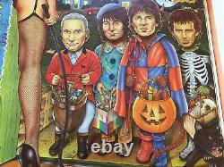 Rolling Stones Vintage Halloween Concert Poster