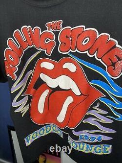 Rolling Stones Voodoo Lounge T Shirt Vintage 1994 Mens Large Vtg Rare
