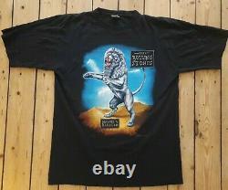 THE ROLLING STONES Vintage Bridges to Babylon Tour T Shirt 97 Black Jagger XL LP