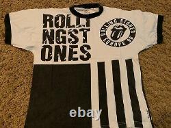THE ROLLING STONES vintage 1990 Urban Jungle rare UK tour event shirt Large
