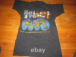 The ROLLING STONES WORLD TOUR 81-82 VINTAGE TEE SHIRT SMALL SCREEN STARS TAG