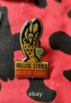 The Rolling Stones Merch Voodoo Lounge European Tour 1995 Rare Vintage