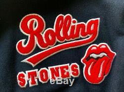 The Rolling Stones Vintage 94 Varsity Jacket Brockum Adult XL Voodoo Lounge Tour