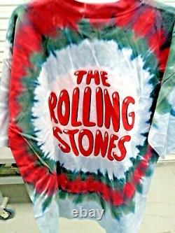 VINTAGE NWT 1994 ROLLING STONES Double Sided Tshirt Rock Tee XL