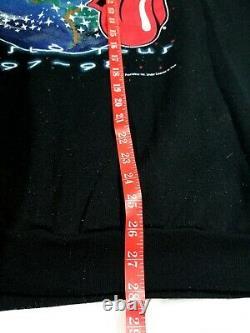 VTG 1997 1998 The Rolling Stones World Tour Crewneck Sweatshirt Size XL