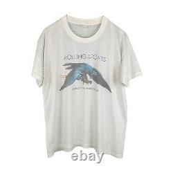 Vintage 1975 Rolling Stones Tour of America shirt L-M