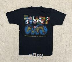 Vintage 1981 1982 Rolling Stones World Tour T Shirt 80s