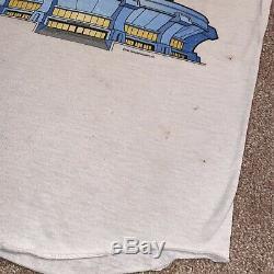 Vintage 1981 Rolling Stones Boulder Colorado Concert T-Shirt Heart Tour 80s Sz M