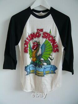 Vintage 1981 The Rolling Stones concert t shirt