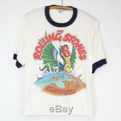 Vintage 1982 Rolling Stones European Tour Shirt 41