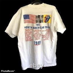 Vintage 1989 ROLLING STONES Warhol T shirt