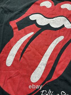 Vintage 1989 Rolling Stones'89 The North American Band Tee Tour T-shirt Size XL