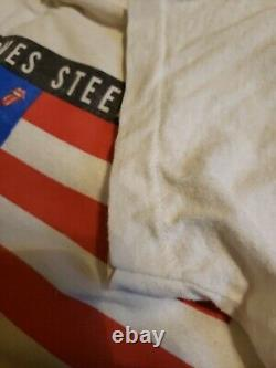 Vintage 1989 Rolling Stones Steel Wheels North American Tour Band Shirt XL