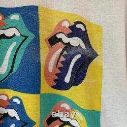 Vintage 1989 Rolling Stones The North America Tour t shirt