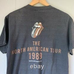 Vintage 1989 Rolling Stones t shirt