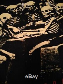 Vintage 1994-95 Rolling Stones Voodoo Lounge Tour skeleton tee T-Shirt XL EUC