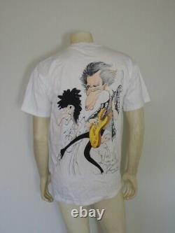 Vintage 1994 Gerald Scarfe THE ROLLING STONES Voodoo Lounge Tee Shirt Size LARGE