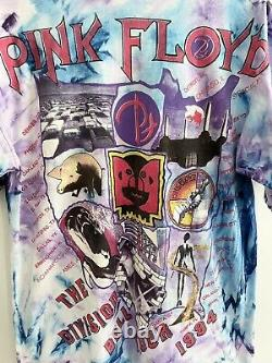 Vintage 1994 Pink Floyd The Division Bell Tour tee XL Rare