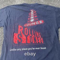 Vintage 1994 Rolling Stones Voo Doo Lounge Brockum Tag T-Shirt Size XL