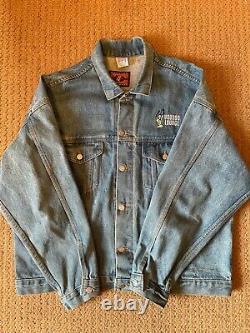 Vintage 1994 Rolling Stones VooDoo Lounge Jean Jacket Super Rare
