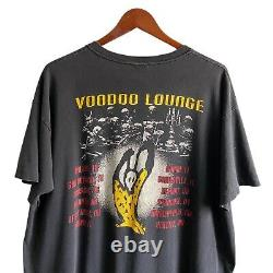 Vintage 1994 Rolling Stones Voodoo Lounge Concert Tour Distressed Shirt