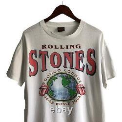 Vintage 1994 Rolling Stones Voodoo Lounge Tour Concert Shirt