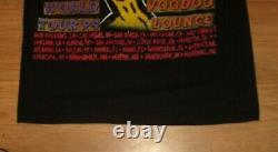 Vintage 1994 The Rolling Stones Woodo Lounge World Tour Double Sided T Shirt Siz