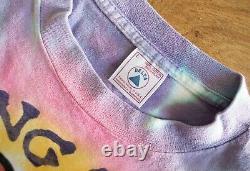 Vintage 1997 The Rolling Stones Bridges to Babylon Tie Dye Concert T Shirt Large