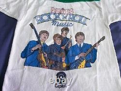 Vintage 70s Beatles Rolling stones pink floyd nirvana 80s 90s tee t-shirt