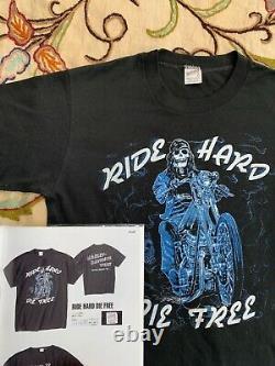 Vintage 70s Harley Davidson led zeppelin rolling stones nirvana t shirt 80s 90s