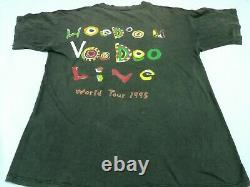 Vintage 90s THE ROLLING STONES Voodoo Lounge T Shirt Tour Live 1995